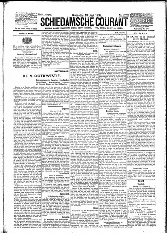 Schiedamsche Courant 1935-06-19