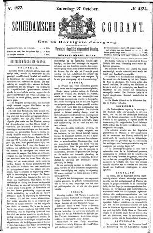 Schiedamsche Courant 1877-10-27