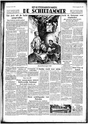 Rotterdamsch Parool / De Schiedammer 1948-07-10