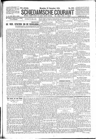 Schiedamsche Courant 1931-12-21