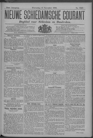Nieuwe Schiedamsche Courant 1909-11-17