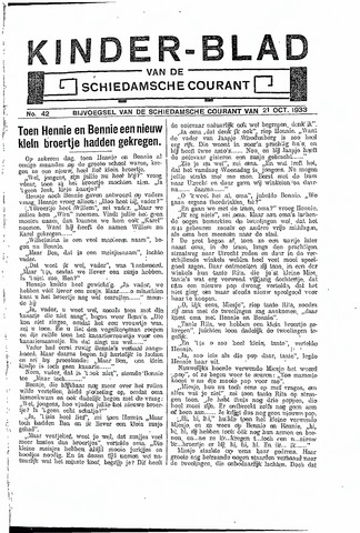Schiedamsche Courant 1933-10-21