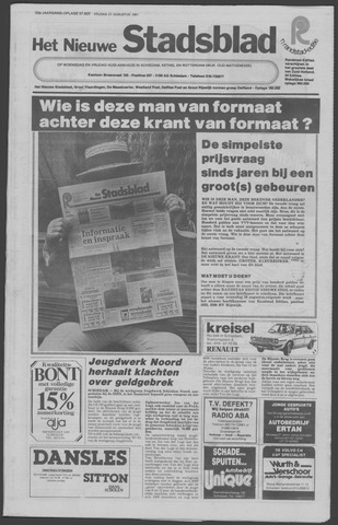Het Nieuwe Stadsblad 1981-08-21