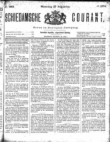 Schiedamsche Courant 1883-08-27