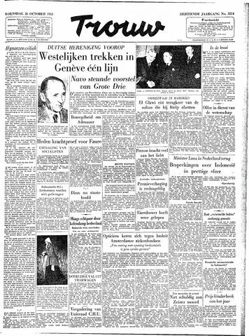 Trouw / De Rotterdammer 1955-10-26