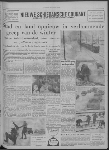 Nieuwe Schiedamsche Courant 1958-02-26