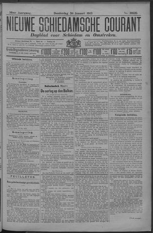 Nieuwe Schiedamsche Courant 1913-01-30