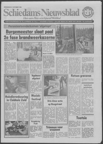 Schiedams Nieuwsblad 1984-10-31