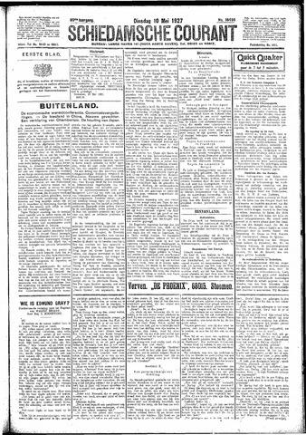 Schiedamsche Courant 1927-05-10