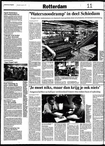 Rotterdamsch Nieuwsblad / Schiedamsche Courant / Rotterdams Dagblad / Waterweg / Algemeen Dagblad 1991-08-03