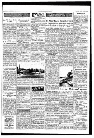 Rotterdamsch Nieuwsblad / Schiedamsche Courant / Rotterdams Dagblad / Waterweg / Algemeen Dagblad 1953-08-06