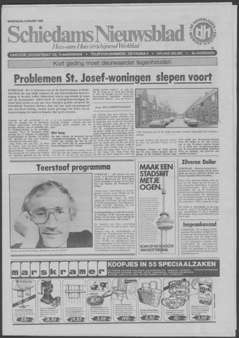 Schiedams Nieuwsblad 1983-03-16
