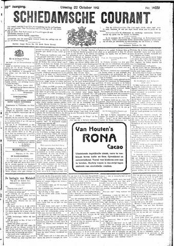 Schiedamsche Courant 1912-10-22