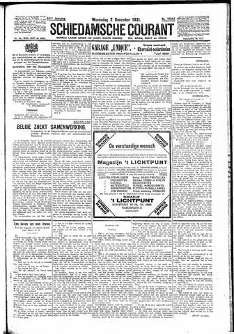 Schiedamsche Courant 1931-12-02