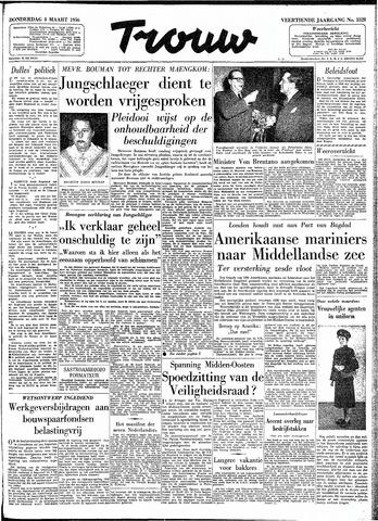 Trouw / De Rotterdammer 1956-03-08