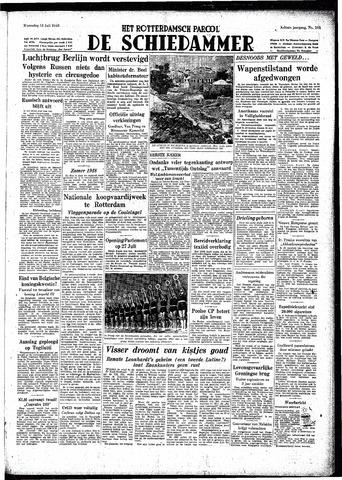 Rotterdamsch Parool / De Schiedammer 1948-07-14