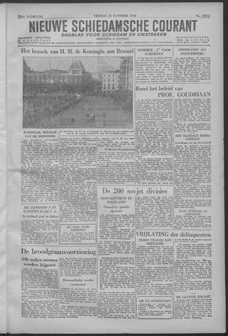 Nieuwe Schiedamsche Courant 1946-10-25