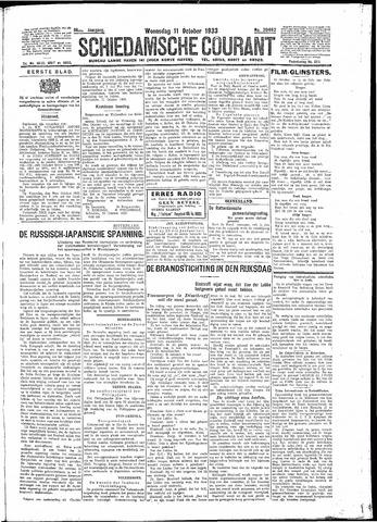 Schiedamsche Courant 1933-10-11