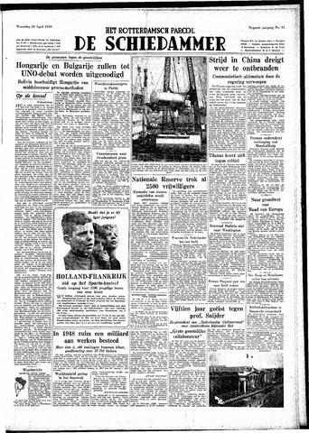 Rotterdamsch Parool / De Schiedammer 1949-04-20