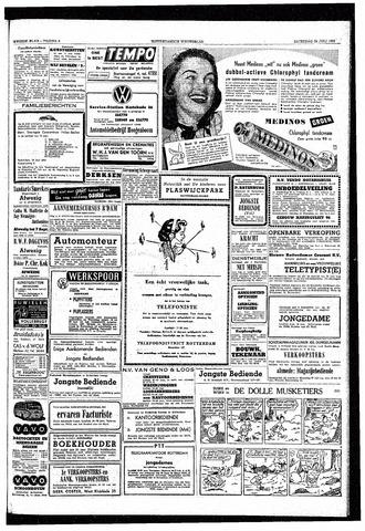 Rotterdamsch Nieuwsblad / Schiedamsche Courant / Rotterdams Dagblad / Waterweg / Algemeen Dagblad 1953-07-25