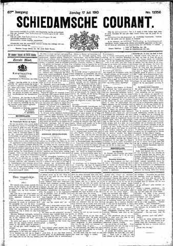 Schiedamsche Courant 1910-07-17