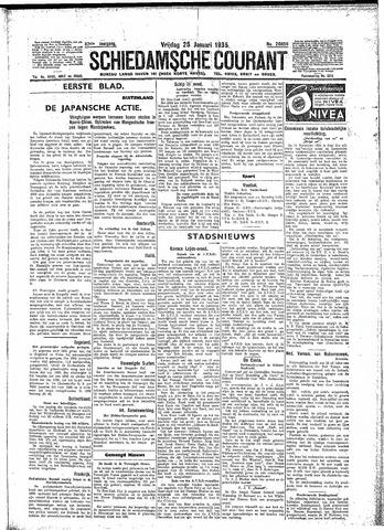 Schiedamsche Courant 1935-01-25