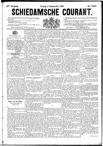 Schiedamsche Courant 1910-09-02