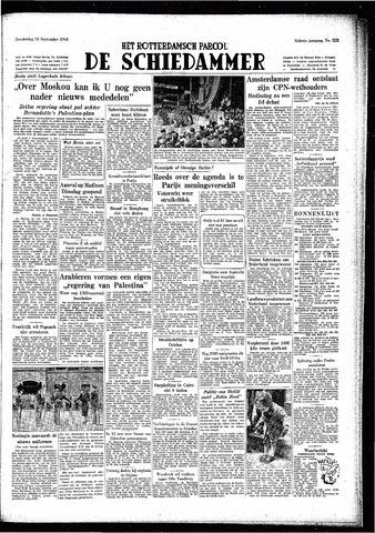 Rotterdamsch Parool / De Schiedammer 1948-09-23