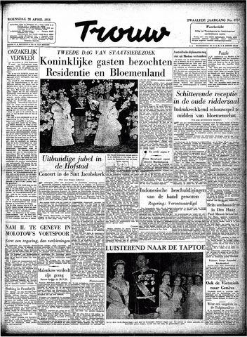 Trouw / De Rotterdammer 1954-04-28
