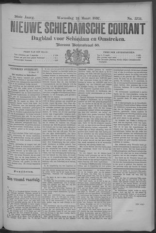 Nieuwe Schiedamsche Courant 1897-03-24