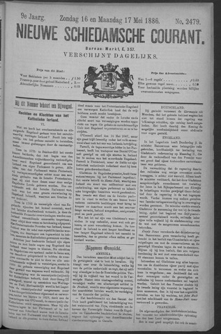 Nieuwe Schiedamsche Courant 1886-05-17