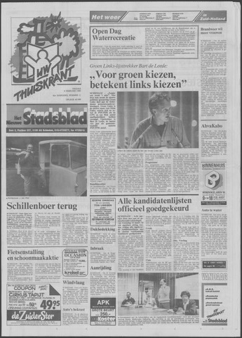 Het Nieuwe Stadsblad 1990-02-09