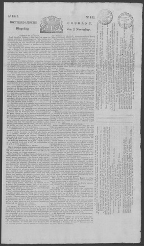 Rotterdamse Courant 1841-11-02