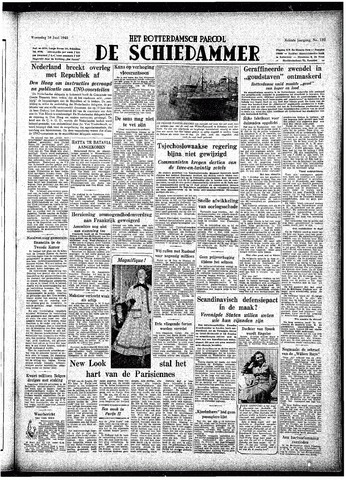 Rotterdamsch Parool / De Schiedammer 1948-06-16