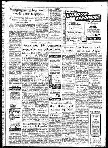 Rotterdamsch Parool / De Schiedammer 1962-01-15