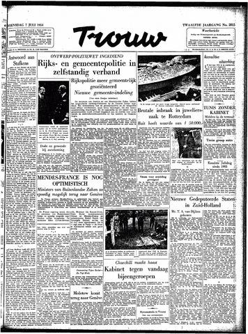 Trouw / De Rotterdammer 1954-07-07