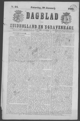 Dagblad van Zuid-Holland 1860-01-28