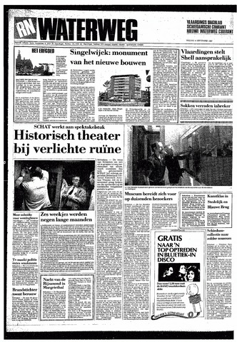 Rotterdamsch Nieuwsblad / Schiedamsche Courant / Rotterdams Dagblad / Waterweg / Algemeen Dagblad 1987-09-04