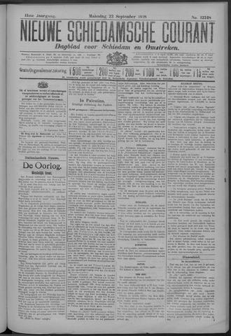 Nieuwe Schiedamsche Courant 1918-09-23
