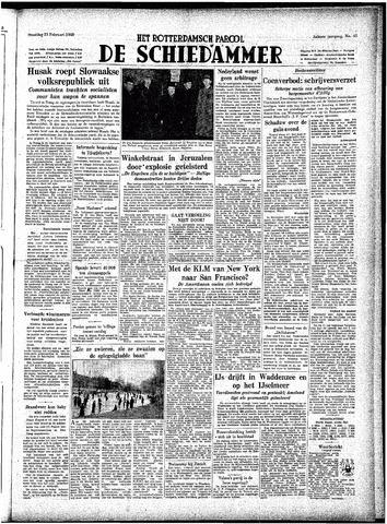 Rotterdamsch Parool / De Schiedammer 1948-02-23