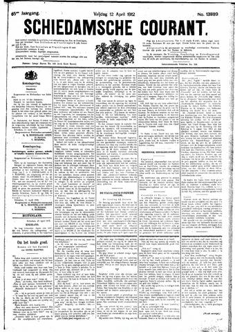 Schiedamsche Courant 1912-04-12
