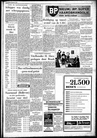Rotterdamsch Parool / De Schiedammer 1961-01-12