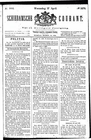 Schiedamsche Courant 1881-04-27