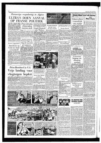Rotterdamsch Parool / De Schiedammer 1959-04-13
