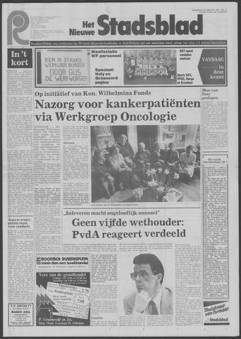 Het Nieuwe Stadsblad 1984-02-22