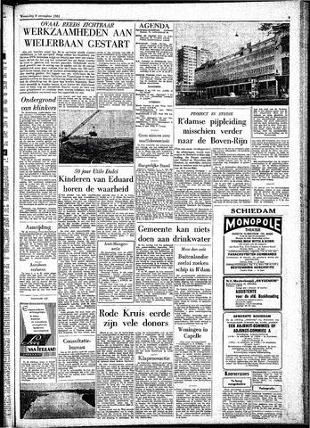 Rotterdamsch Parool / De Schiedammer 1961-11-08