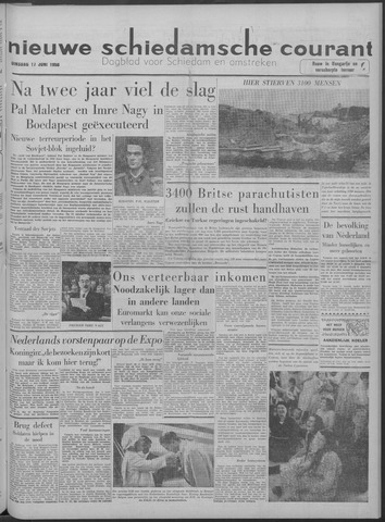 Nieuwe Schiedamsche Courant 1958-06-17