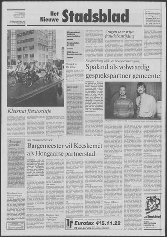 Het Nieuwe Stadsblad 1992-12-04
