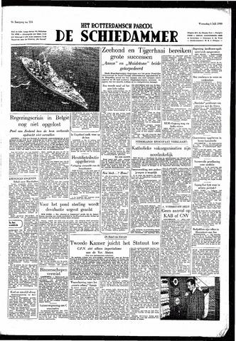 Rotterdamsch Parool / De Schiedammer 1949-07-06