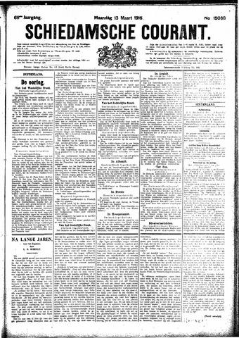 Schiedamsche Courant 1916-03-13